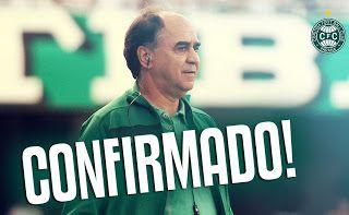 Blog Esportivo do Suíço:  Marcelo Oliveira retorna ao Coritiba após cinco anos