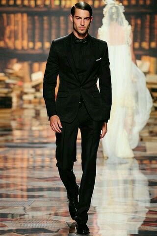 Dress It Up The Attire Groom Groomsmen Create A Great Masculine Silhouette In Black On Tux
