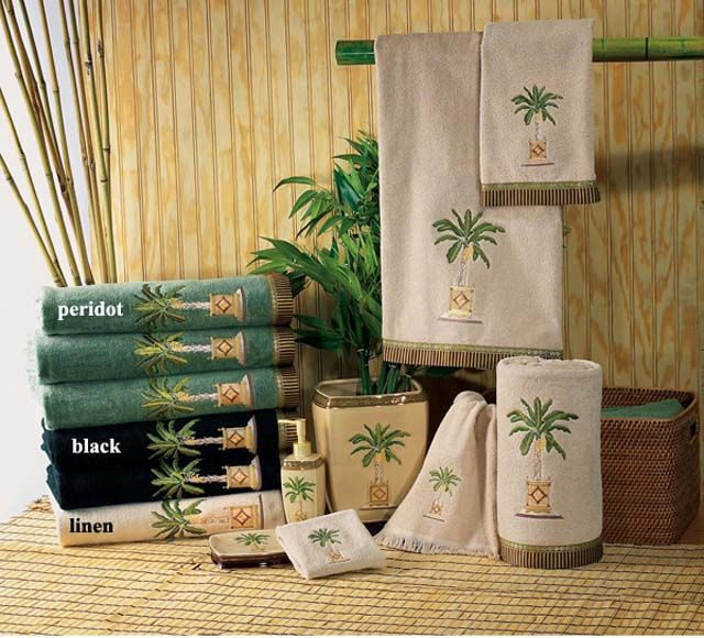176 best Tropical bedding and towels images on Pinterest - decorative towels for bathroom ideas