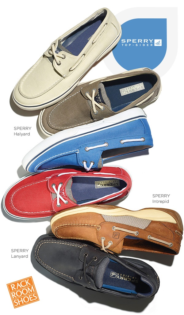 Sperry boat shoes offers a timeless look in multiple colors and styles.