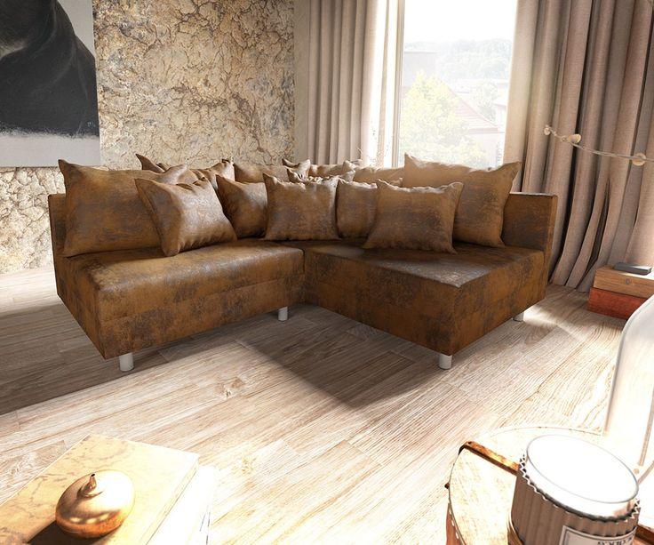 Die besten 25+ Braune Ledermöbel Ideen auf Pinterest braunes - wohnzimmer ideen braune couch