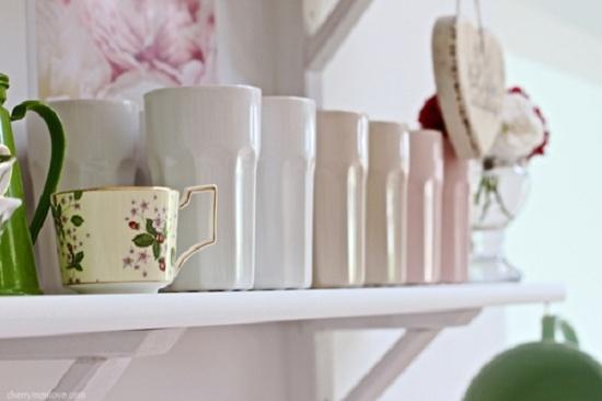 White Kitchen - Open Shelves - 8  Home Decor that I love  Pinterest ...