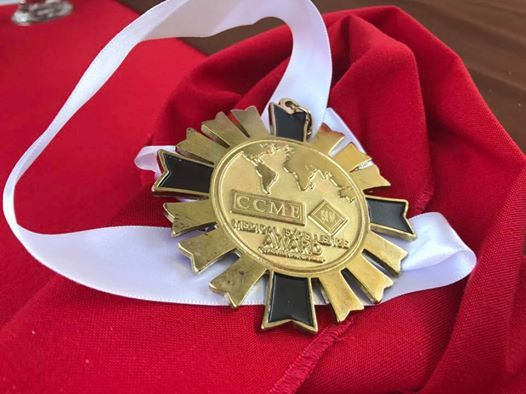 https://flic.kr/p/NpVAvq | Dr Patrick Treacy gets medal for medical excellence in Mexico 2016 | Dr Patrick Treacy gets CCME Medal for medical excellence in research in Mexico 2016