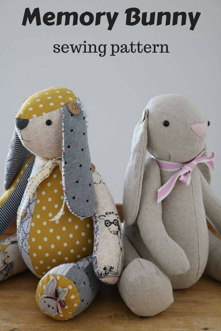 23 Creative Image Of Bunny Sewing Pattern Sewing Stuffed