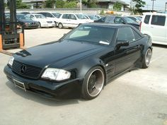 Mercedes 500sl r129 (with kit)