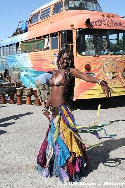 The black hippie movement - ONE LOVE all races
