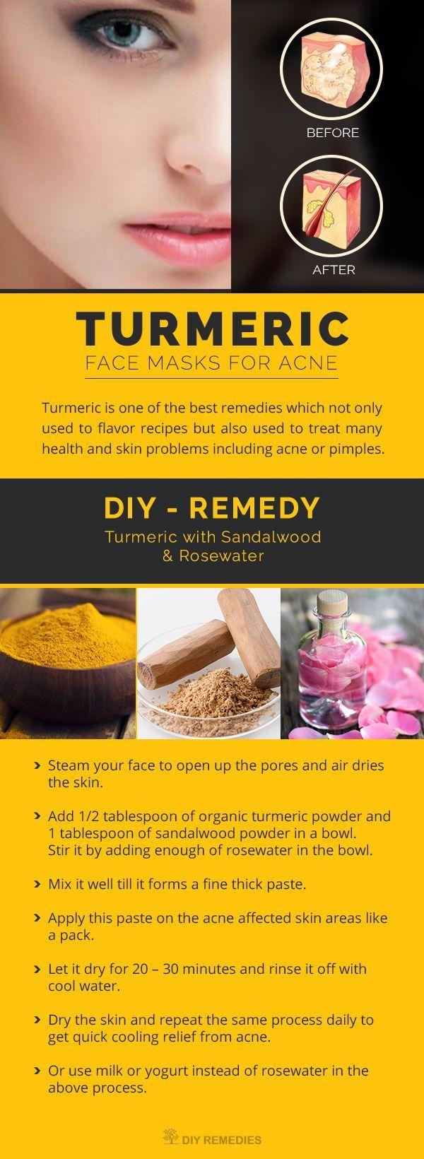25+ best ideas about Turmeric face mask on Pinterest | Turmeric ...