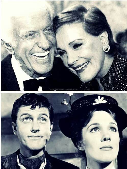 Dick Van Duke and Julie Andrews- love these two!