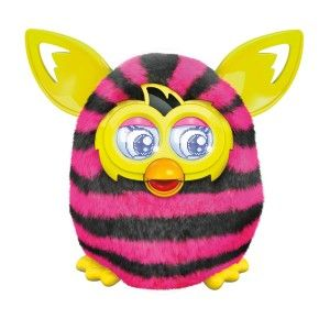 Furby Boom Figure (Straight Stripes) f you're still a child at heart, It's a riot. This Furby has more than twice as many possible responses as the previous Furby