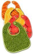 Xplorys Bibs Fruits & Veggies