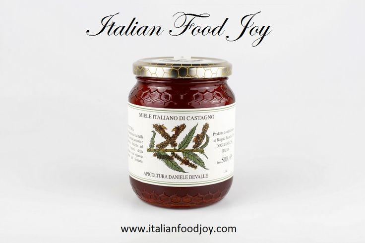 #Chesnut #honey wonderful pairing with #tasty #cheese www.italianfoodjo... for UK and other countries www.italianfoodjo... for DE and AT only