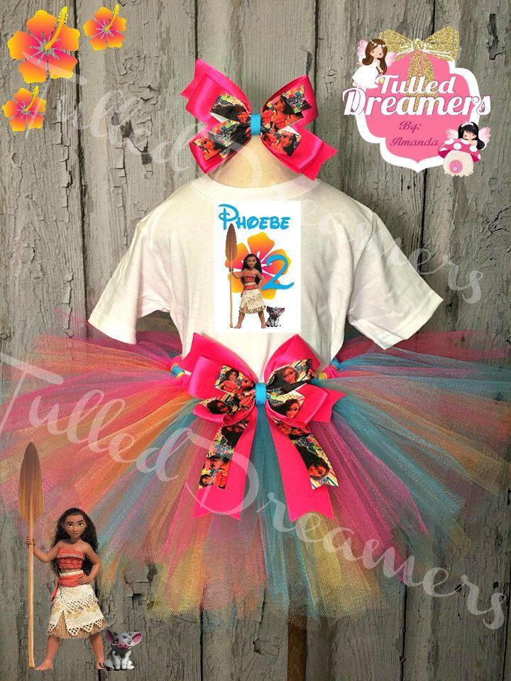 Para Fiestas, Diadema, Princesa Hawaiano, Pequeña Princesa, Seguro,  Princess Tutu S, Princess Moana, Katia Shopkins, Tutu Moana