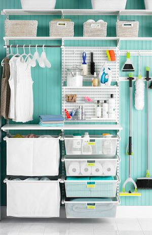 Of only I had a big enough laundry room for this!!! Organized laundry room  http://rstyle.me/n/d7mzvnyg6