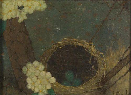 Nestje met eieren, Jan Mankes (1889-1920)