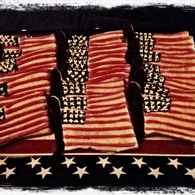 US Flag Cookies!