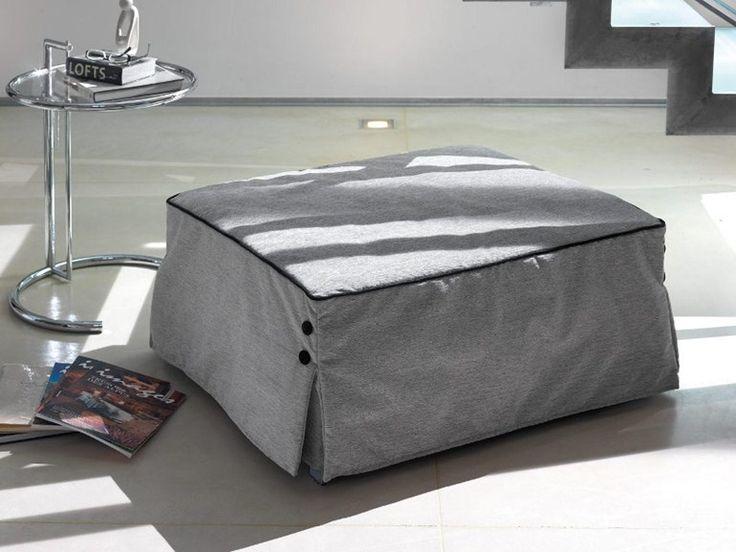 Pouf letto imbottito sfoderabile BILL by Milano Bedding | design Bob Dillon