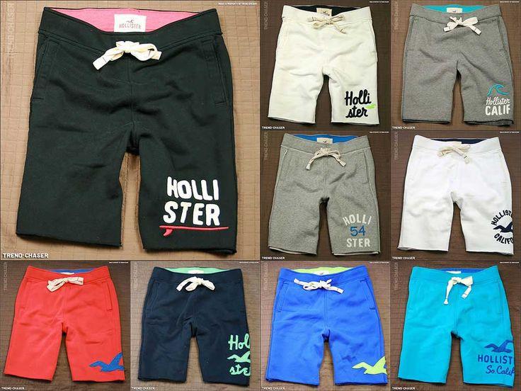 Hollister athletic shorts | 2013 Hollister HCO Mens Fleece Athletic Gym sweat Shorts NWT | eBay