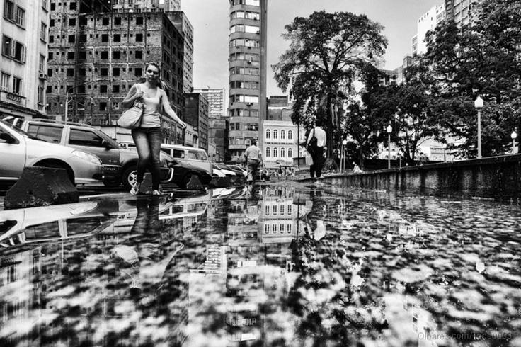 Tarde de chuva.  Porto Alegre - RS - BR  Data: 29.02.2012