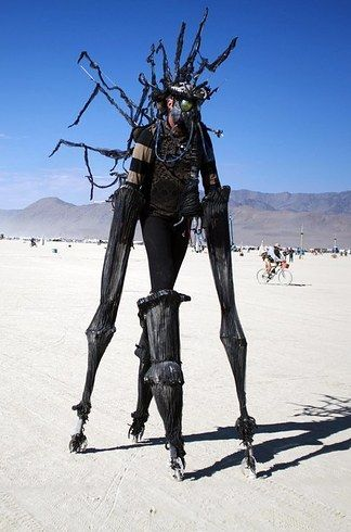 Warning: Excessive nudity. Because, well...it's Burning Man.