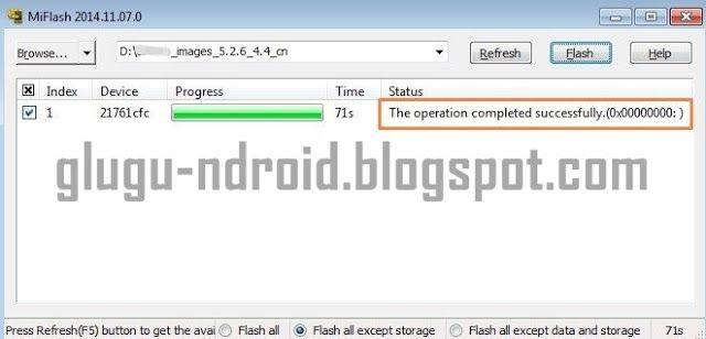Download Fitur Dari Xiaomi Mi Flash Tool (Semua Versi) Terbaru