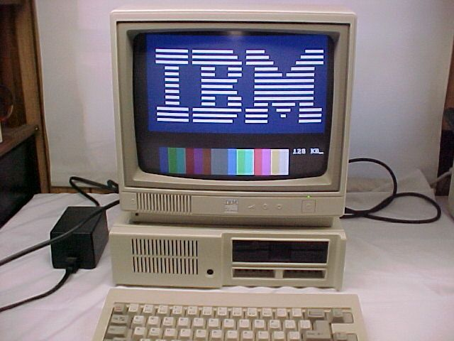 IBM PCjr.  This one got me through college!  Yikes! And I still have it!: Bad Boy, Ibm Computers, Computers Computers, History Old Computers, Ibm Pcjr, Shoplancaster Technology, Http Www Shoplancastercity Com