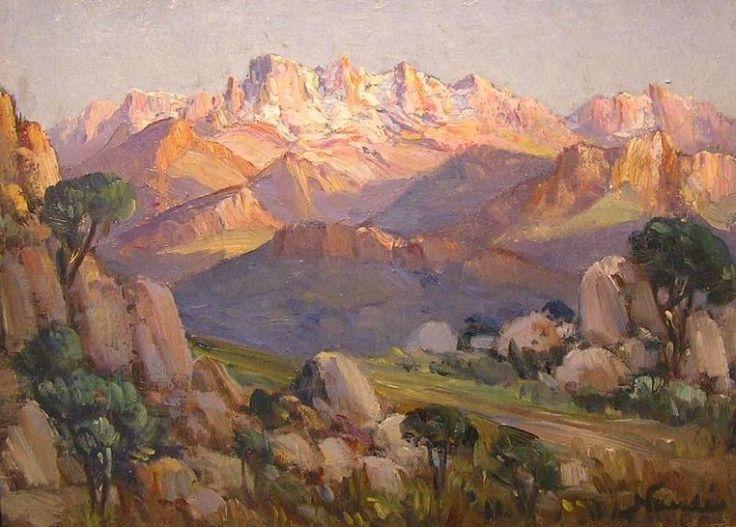 mauve mountains - Hugo Naude