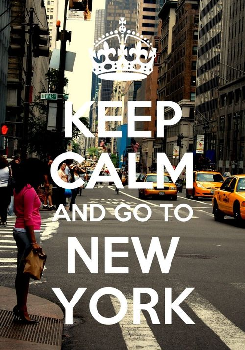#newyork travel keepcalm my favorite place