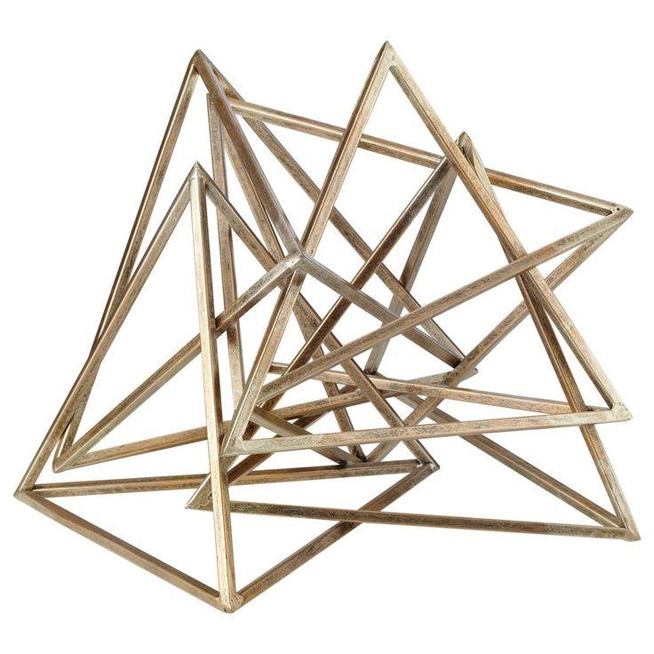 Atelier - Eclectic - Decorative metal object/SCULPTURES & DECOR/HOME ACCENTS/SHOP BY PRODUCT/ATELIER BOUCLAIR|Bouclair.com