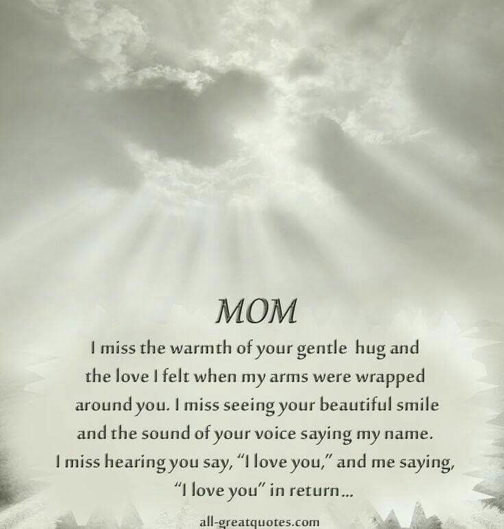 25+ Best Ideas About Miss My Mom On Pinterest