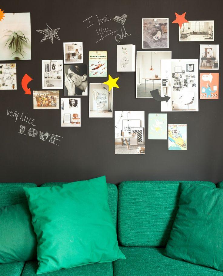 Notitiebord Keuken : Meer dan 1000 idee?n over Maak Een Krijtbord op Pinterest