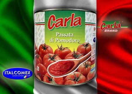 Passata di Pomodoro Italiana Carla - Itaòian Tomato Purèe Carla Brand