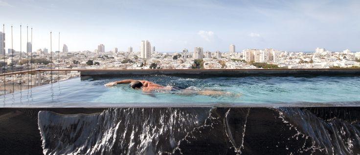 plus de 100 id es tester sur piscine sur toit et toit terrasse terrasse piscine sur le. Black Bedroom Furniture Sets. Home Design Ideas