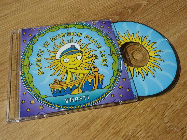 CD cover - Slunce si modrou pluje lodí