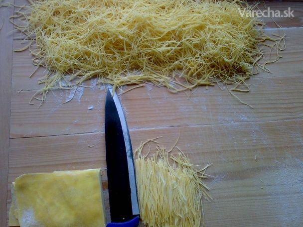 Rezance do nedeľnej slepačej polievky (fotorecept)