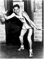 """Charles D. """"Chuck"""" Hyatt (February 28, 1908 – May 8, 1978) was a well-known collegiate basketball player in the late 1920s. The Syracuse, New York native played three seasons at University of Pittsburgh under Hall of Fame coach Clifford Carlson (1927–30). An exceptional shooter, Hyatt scored then-outstanding 880 points throughout his college career. He was named an All-American three consecutive times, and additionally Helms Foundation Player of the Year in 1930, when he led the nation in…"""
