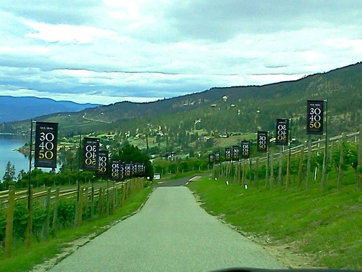 """Taste wine at Gray Monk Estate Winery - """" vineyard setting north of Kelowna; one of the oldest estate wineries in BC"""""""