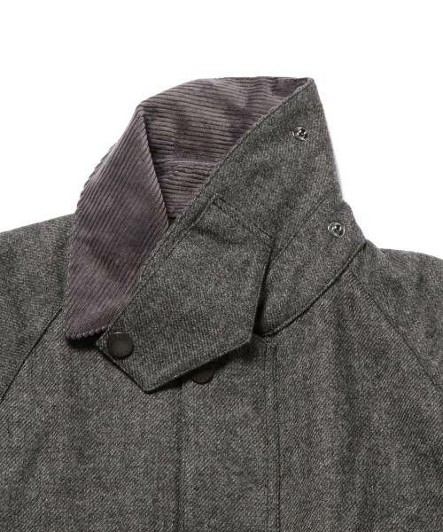 Barbour × IGBEAMS / сделанный на заказ Bedale SL 15AW Международной галерее ПУЧКОВ (International Gallery) (блузон) | детальное изображение