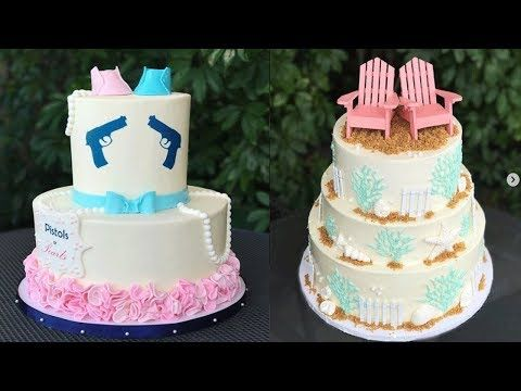 Top 10 Easy Wedding Cake Decorating Ideas compilation - Cakes Style 2017 - oddly satisfying video - YouTube