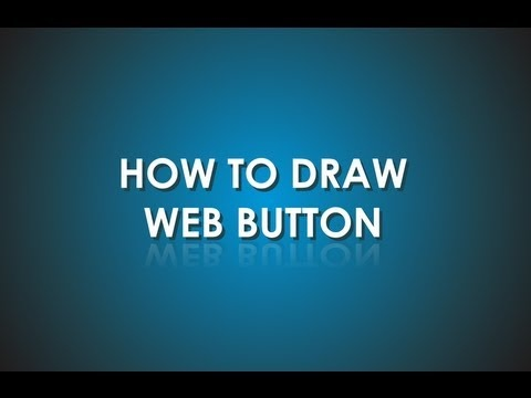 Video shows how to draw button using few tools - transparency, fountain fill and shading.
