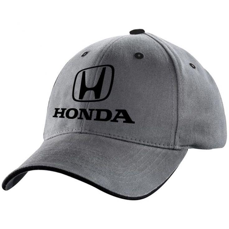 Honda 3D Grey Classic Logo Hat - HM4504