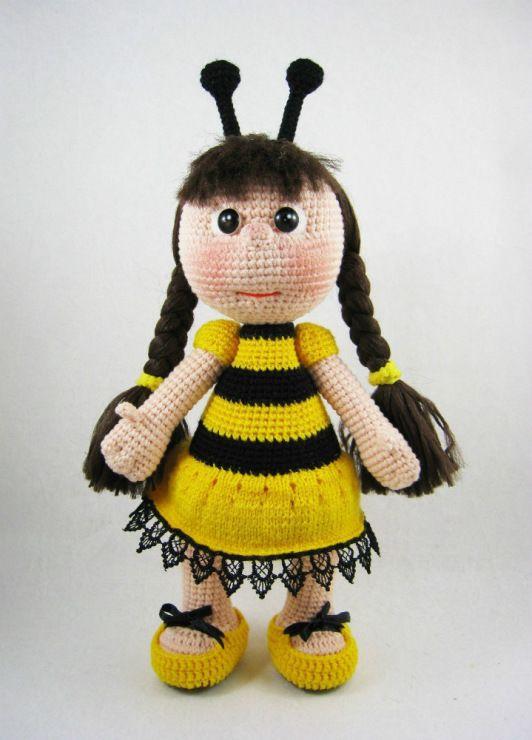 Amigurumi Bee Girl : Gallery.ru / ???? #66 - ??? ????????? - Sultanovna ...