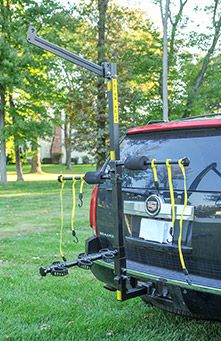 The Totem Pole bike rack is the world's first hitch mount design and easily holds up to six bikes. Shop now and make your bike outings a breeze.