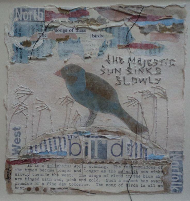 Bird II Mixed Media on Paper Tess Ainley