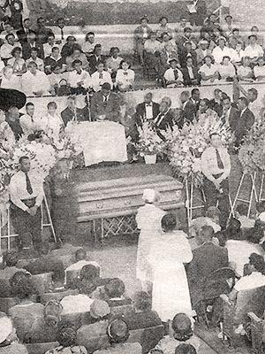 Funeral of Emmett Till