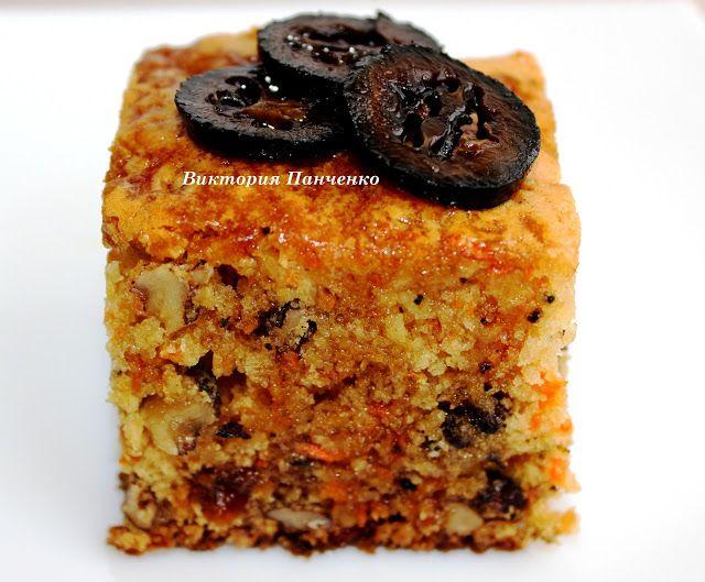 Tort con carote ,noci e uvetta....ПОБЕДА ВКУСА : Морковный кекс с грецкими орехами и изюмом.