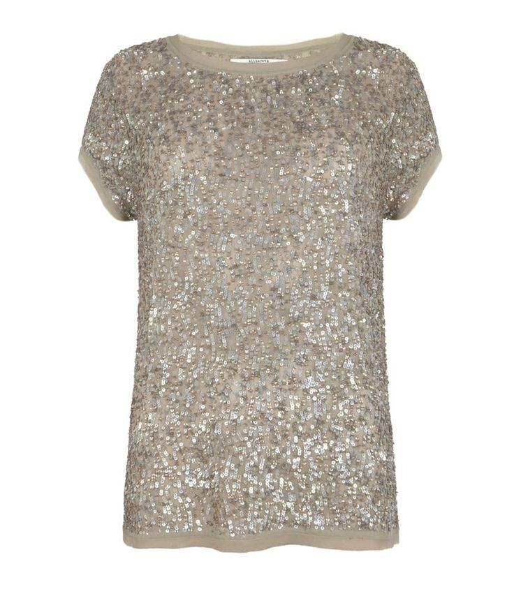 Dispel T-shirt from All Saints. My favorite shirt I bought this Summer. I must be part Siegfried & Roy because I can't get enough sequins!