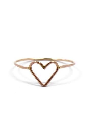 Would you rather: Have open heart surgery or wear this cute little Open Heart Ring from www.mooreaseal.com? heehee! <3