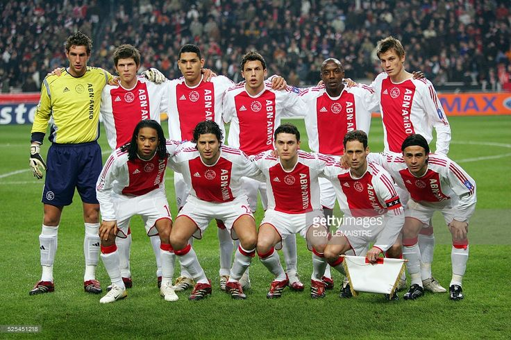 Soccer Champions League, season 2005-2006: AFC Ajax vs FC Internazionale. Ajax