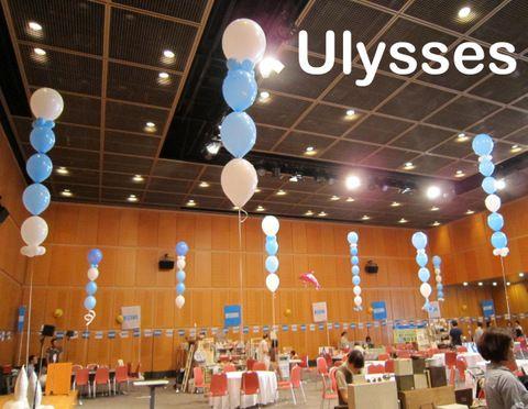 茨城県つくば市のバルーンショップ「ユリシス」バルーンアート。バルーンギフト(誕生日/各種お祝い),結婚式バルーン電報,ヘリウムガス,風船資材販売。全国発送バルタク。