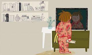 """""""Basia i telewizor"""", czyli jak zepsuty telewizor naprawia więzi rodzinne. / Basia and the TV - the broken TV can fix family relations."""